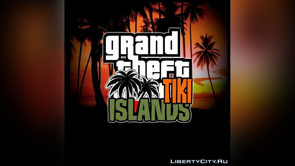 ��� ����� GTA Tiki Islands ��� GTA San Andreas