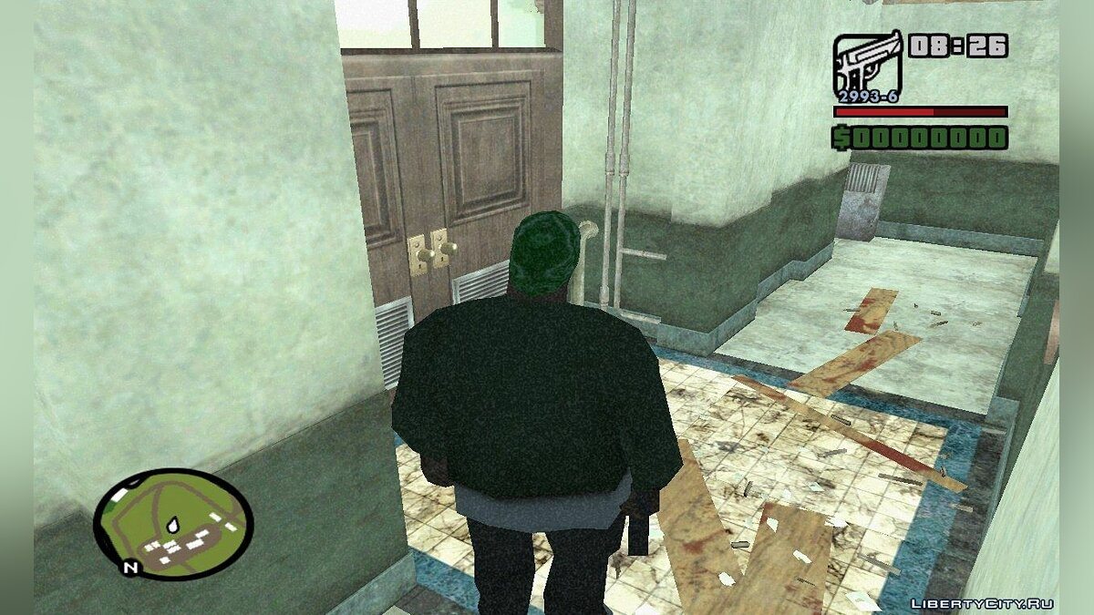 Great Killer Zombie: RPD ��� GTA San Andreas