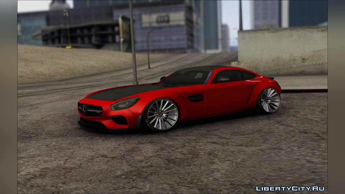 Машина Mercedes-Benz Mercedes AMG GT Prior Design для GTA San Andreas