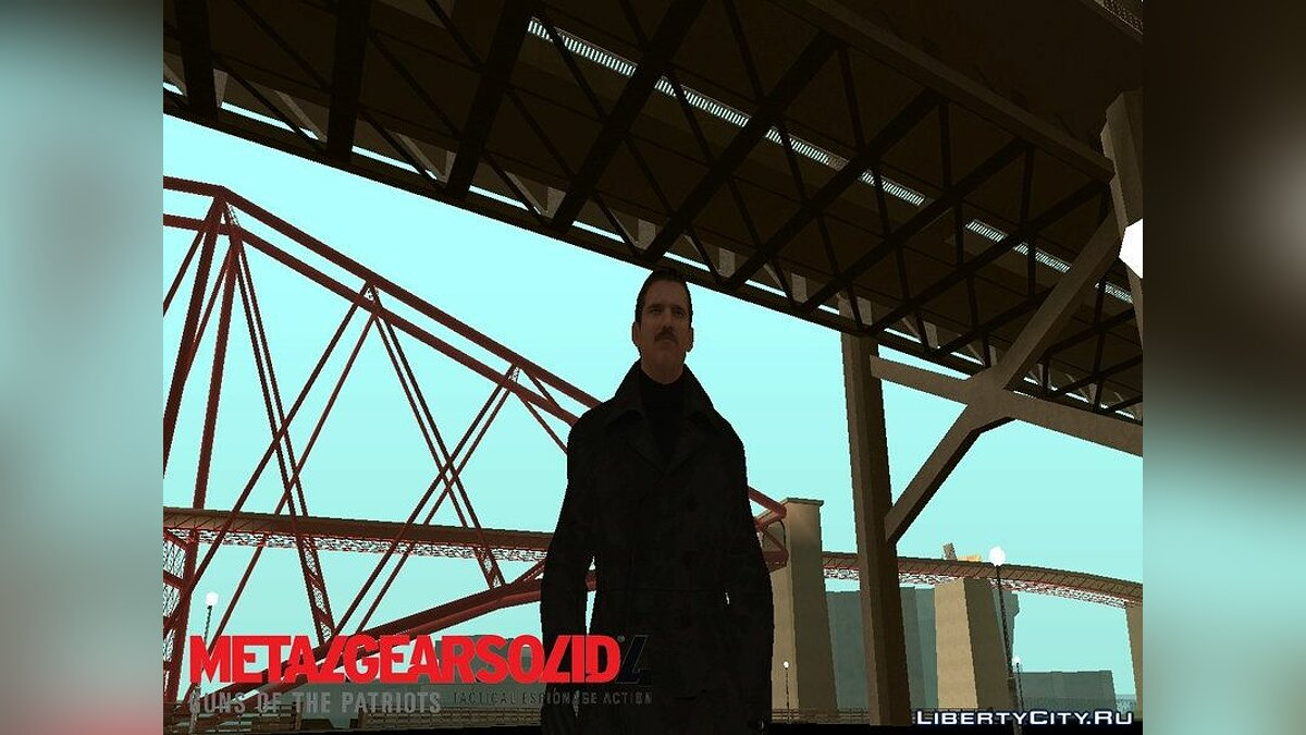 ����� �������� Resistance Man  From MGS 4 ��� GTA San Andreas