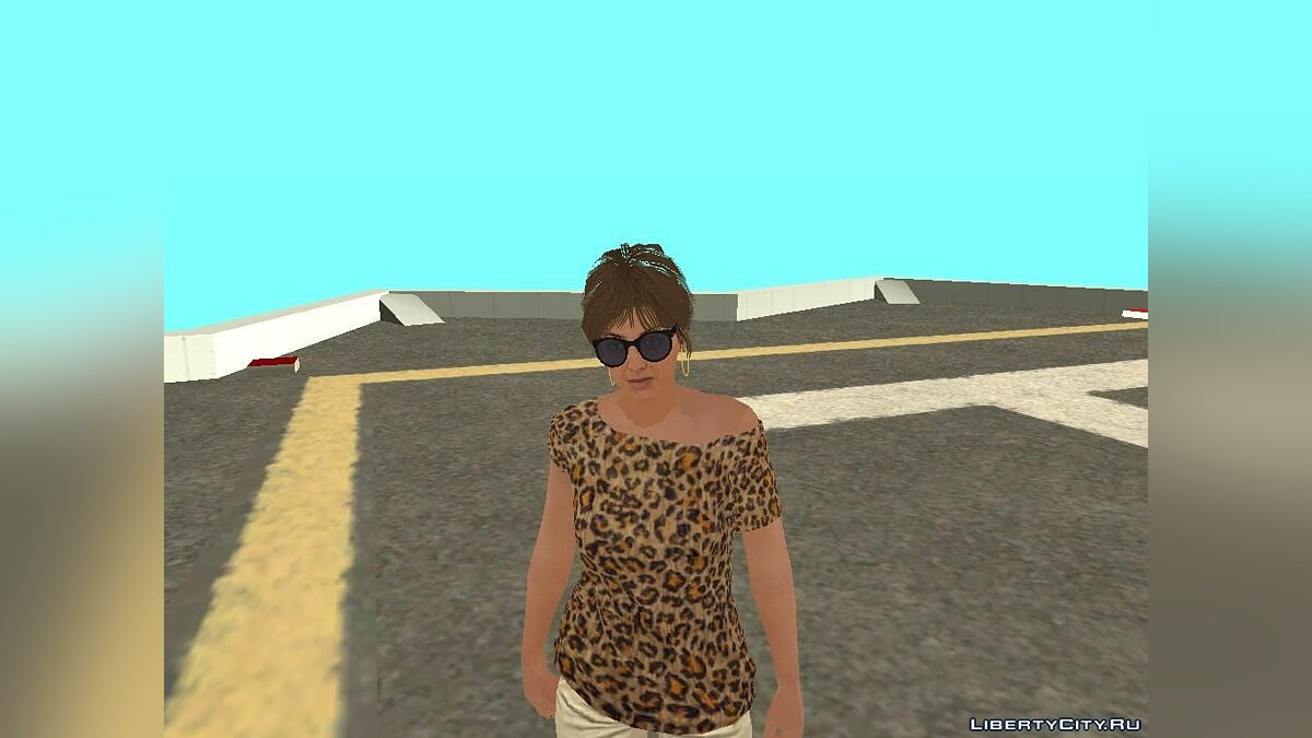 ����� �������� Player.img �� GTA Online(�������) ��� GTA San Andreas