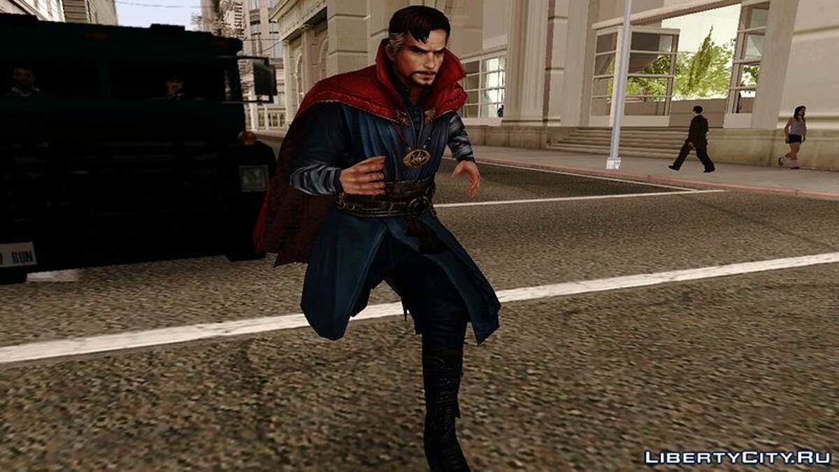 Новый персонаж Marvel Future Fight - Dr. Strange для GTA San Andreas