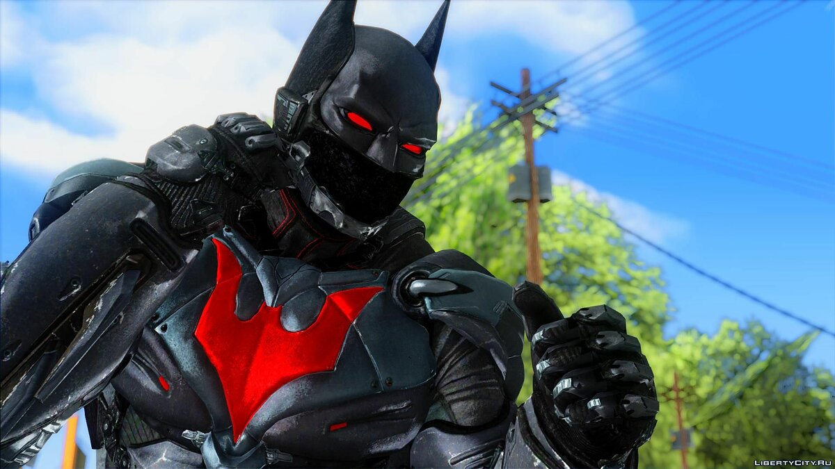 ����� �������� [BAK] Batman Beyond ��� GTA San Andreas