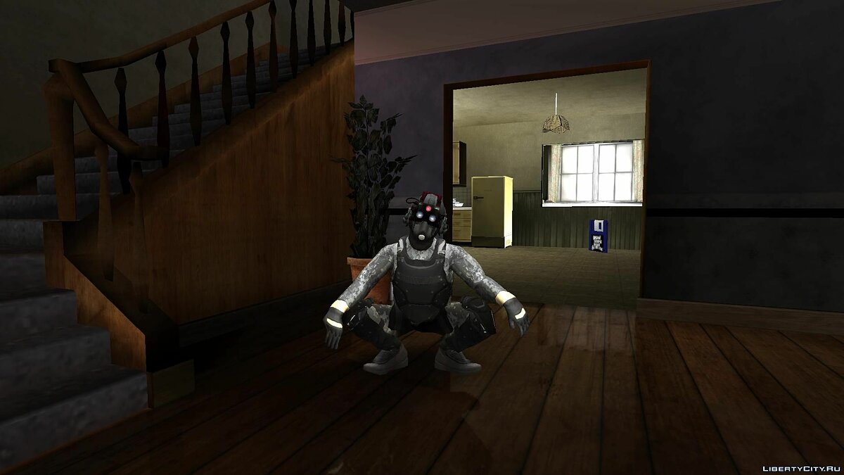 ����� �������� Cloaker fix and Russian Cloaker from PAYDAY2 ��� GTA San Andreas