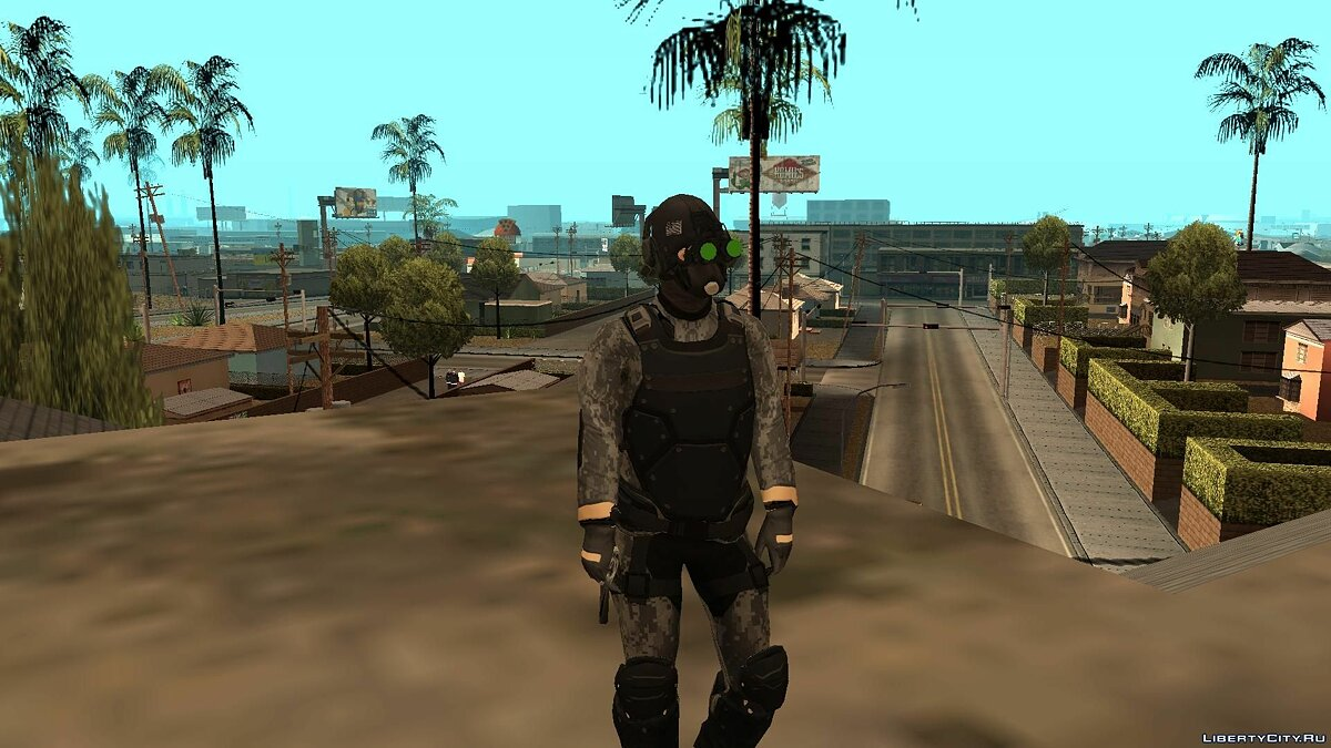 ����� �������� Cloaker from PAYDAY 2 ��� GTA San Andreas