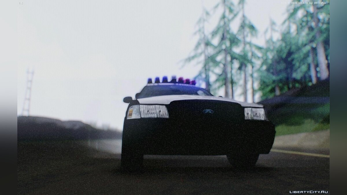 ������ ������� Ford Crown Victoria Texas Police [MQ] ��� GTA San Andreas