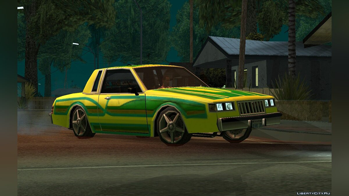 ������ Majestic Lowrider Tunable ��� GTA San Andreas