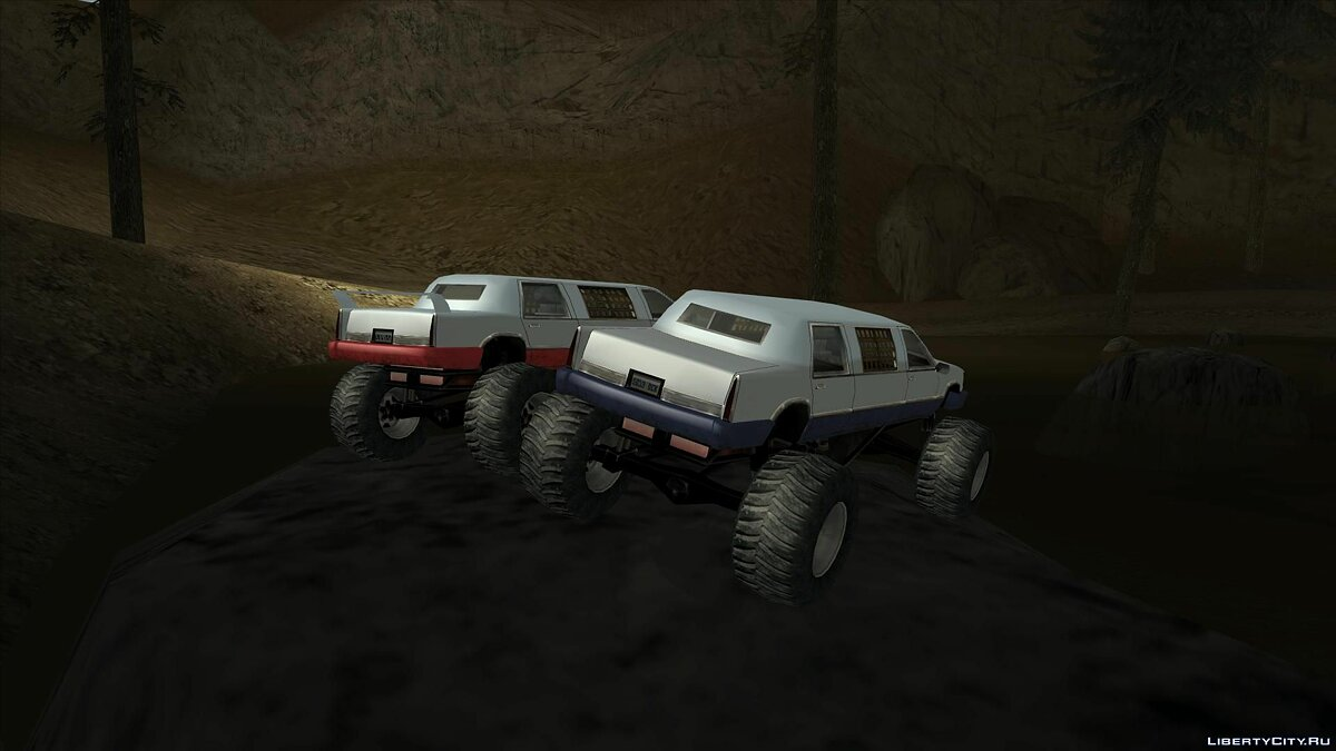 ������ Stretch Monster Truck FIX ��� GTA San Andreas