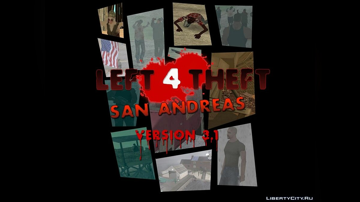 ���������� Left 4 Theft v3.1 ���������� 100% ��� GTA San Andreas