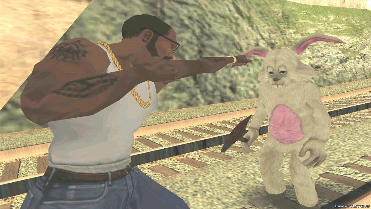 CLEO ������ The Bunnyman - �������-������ ��� GTA San Andreas