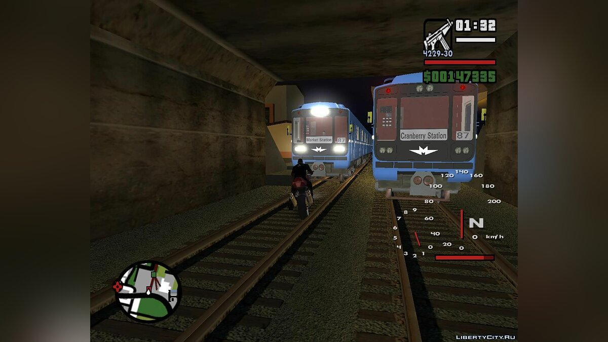 CLEO ������ Algorithm Of Railway Traffic ��� GTA San Andreas