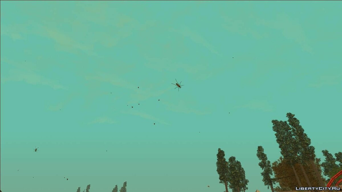 CLEO ������ Insects mod ��� GTA San Andreas