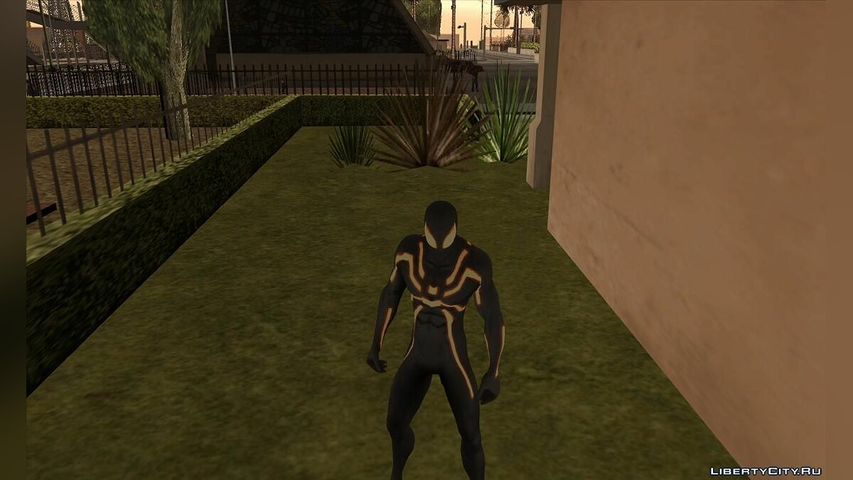 CLEO ������ Spider-man mod Demo ��� GTA San Andreas