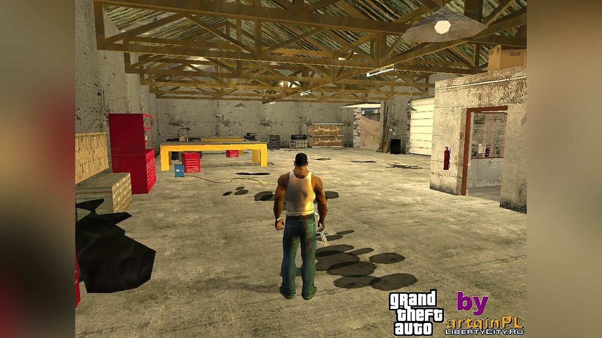 CLEO ������ Enterable Hidden Interiors ��� GTA San Andreas