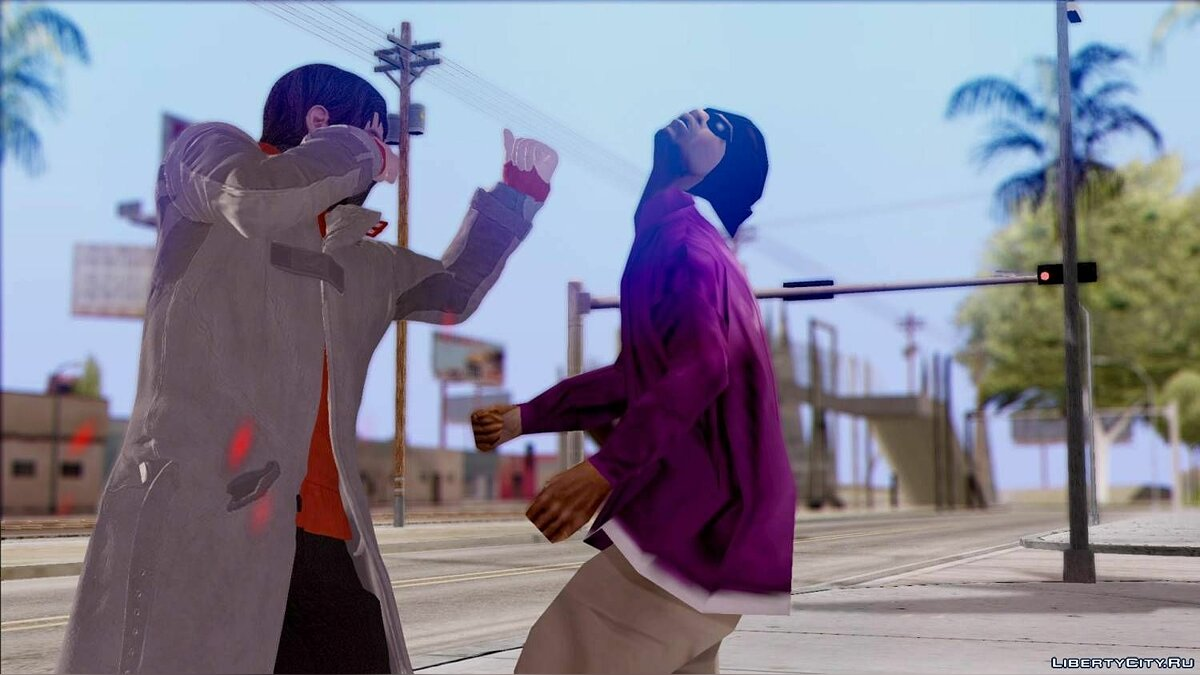 ������� ������ Amazing Player: Watch Dogs ��� GTA San Andreas