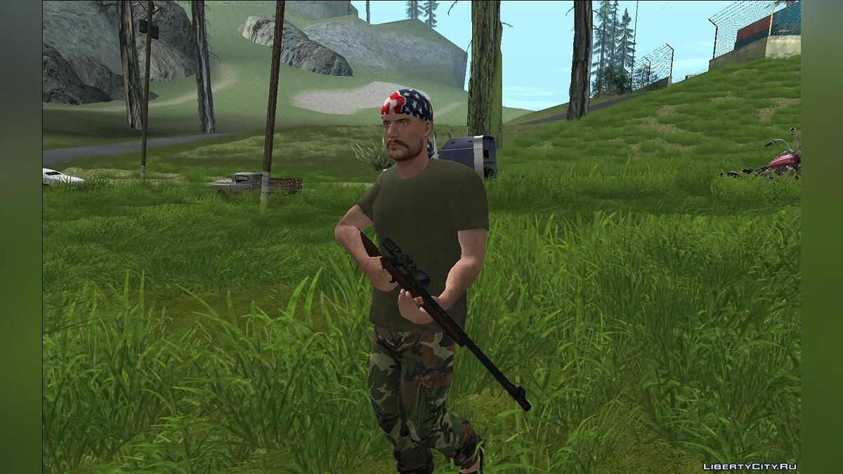 ���������� ��� Other Side of the Fence - Grass Mod ��� GTA San Andreas
