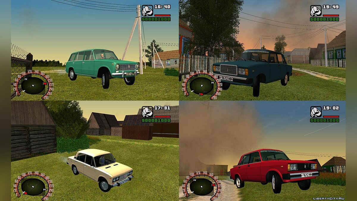 ������ ��� ��� ����� ��� GTA:Criminal Russia ��� GTA San Andreas