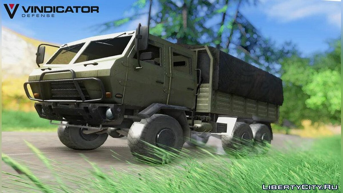 ������� ������ Dongfeng SX Military Truck ��� GTA San Andreas