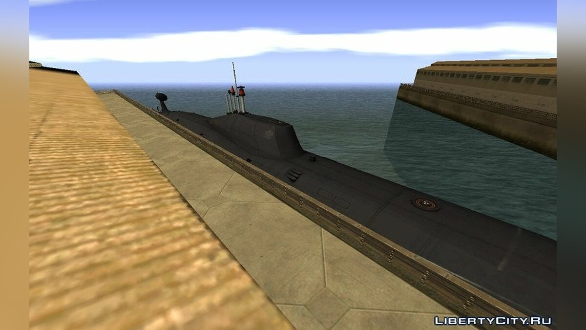 ����� � ����� Project 971 K-284 Akula ��� GTA San Andreas