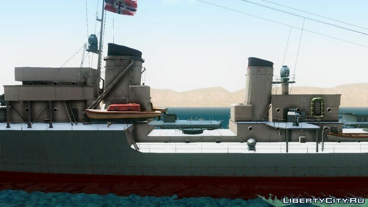 ����� � ����� Type 34 Destroyer ��� GTA San Andreas