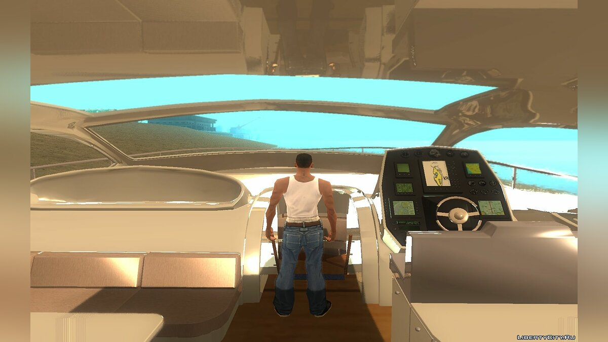 ����� � ����� Speed Yacht ��� GTA San Andreas
