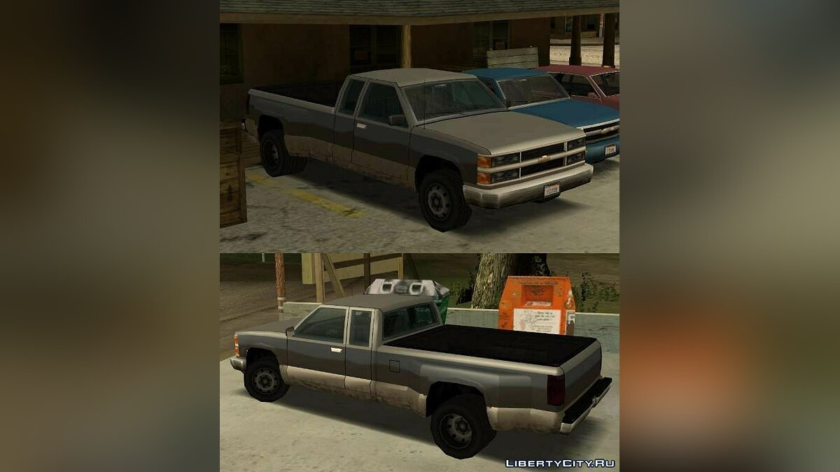 ������ Chevy Silverado by krystofer (SA Style) ��� GTA San Andreas