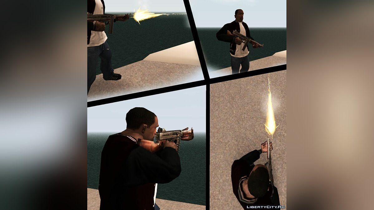 ��������� ��� Thompson �� Call of Duty: Roads to Victory ��� GTA San Andreas