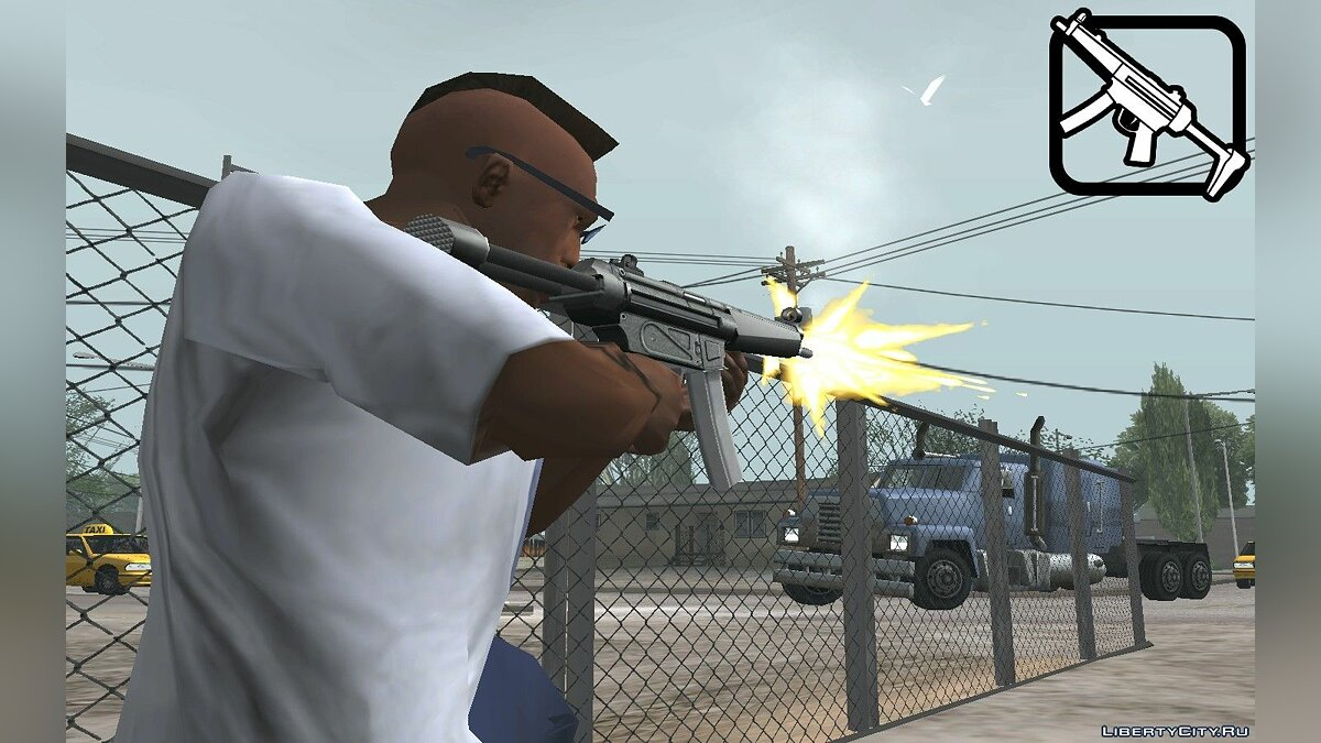��������� ��� MP5 From Hitman: Contracts ��� GTA San Andreas